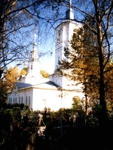 Введенская Богородская церковь у д.Озёра.